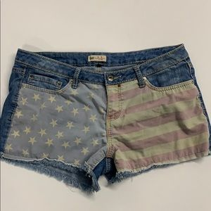 YMI Flag Shorts